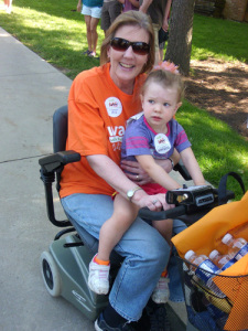 Darlene at Walk MS Grand Rapids 2012