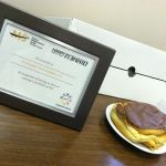 The coveted Community Events Recognition Award at Peninsular Technologies