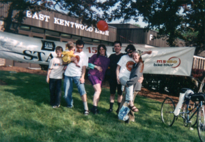 Team N3kk1d at West Michigan Bike MS 2003