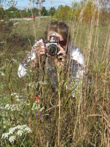 Photographer Jen in her natural habitat...